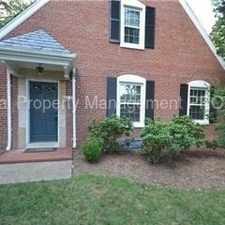 Rental info for RARE END UNIT TOWNHOME WITH LARGE PRIVATE FRONT YARD in the Fairlington area