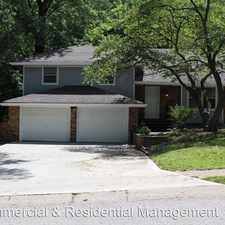 Rental info for 3104 SE 3rd Street in the Blue Springs area