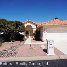 Rental info for 25015 S Drifter Dr