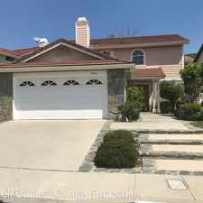 Rental info for 19711 Crystal Hills Dr. in the Porter Ranch area