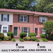 Rental info for 5226 King's Wood Lane Kings Wood Townhomes