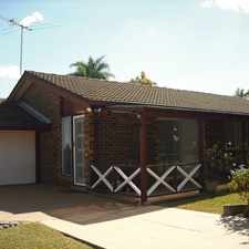 Rental info for Low set home located in central Narangba