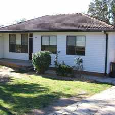 Rental info for NEAT & TIDY THREE BEDROOM HOME - LALOR PARK in the Blacktown area