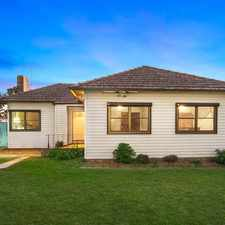 Rental info for Promising single level home on quiet corner block in the Sydney area