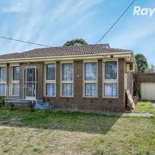 Rental info for 4 BEDROOM FAMILY HOME!