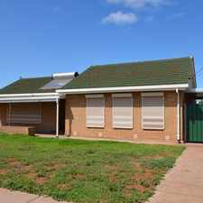 Rental info for Neat and tidy family home for lease in the Whyalla area