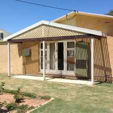 Rental info for 3 x 1 home in Wonthella! in the Wonthella area
