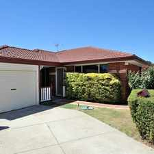Rental info for FAMILY HOME IN WAIKIKI in the Perth area