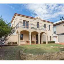 Rental info for Location and Lifestyle! in the Perth area