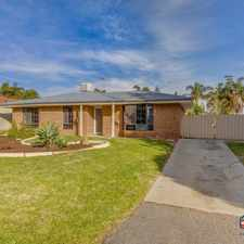 Rental info for PRICE REDUCTION! in the Perth area