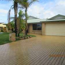 Rental info for GREAT FAMILY HOME NEAR SCHOOL in the San Remo area