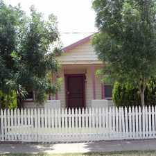 "Rental info for ""APPLICATION PENDING"" Cosy Cottage on McKinlay in the Echuca area"