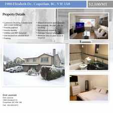 Rental info for Elizabeth Drive