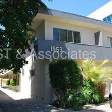 Rental info for Bright Upper 1 Bed/1 Bath near Westwood & Century City. in the Los Angeles area