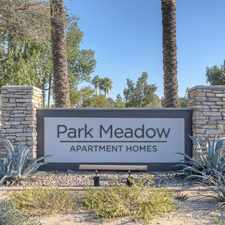 Rental info for Park Meadow in the Mesa area