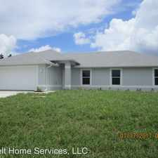 Rental info for 2706 SW 53rd Lane in the 33914 area