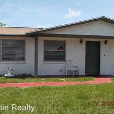 Rental info for 3519 TRASK DR in the Holiday area