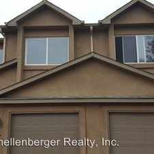 Rental info for 5609 Siam Heights in the Colorado Springs area