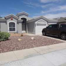 Rental info for 3633 EAST VITEX CIR. in the El Paso area