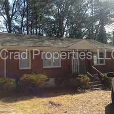 Rental info for Home For Rent in the Browns Mill Park area