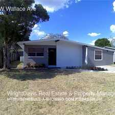 Rental info for 3611 W Wallace Ave in the Tampa area