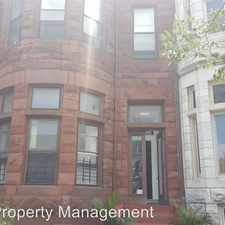 Rental info for Eutaw PL 2432 1st Floor in the Penn North area