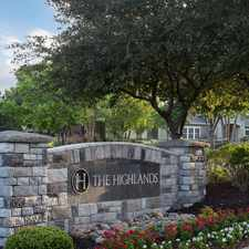Rental info for The Highlands in the Overland Park area