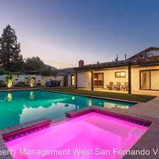 Rental info for 24230 Welby Way, in the Los Angeles area