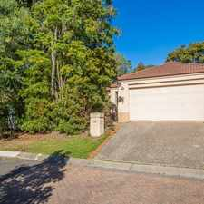 Rental info for TUCKED AWAY REFURBISHED 3 BEDROOM FAMILY RETREAT IN PARADISE SPRINGS ESTATE ROBINA in the Gold Coast area