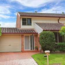 Rental info for Renovated & Immaculate- 3 bedroom duplex + air con! in the Quakers Hill area
