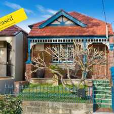 Rental info for Leased Ray White Inner West Rentals! in the Lilyfield area