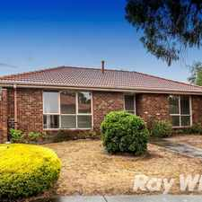 Rental info for Peaceful and private in the Melbourne area