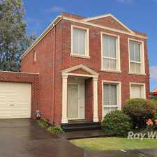 Rental info for LEASED! in the Wantirna area