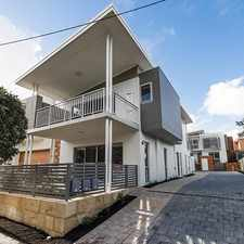 Rental info for BRAND NEW; Two Bed Two Bath Ground Floor Apartment in Boutique Complex in the Bayswater area
