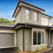 Rental info for Live convenient, live modern in the Ringwood North area
