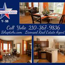 Rental info for Leslie Rd. in the San Antonio area