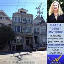 Rental info for 3035 California Street in the Lower Pacific Heights area