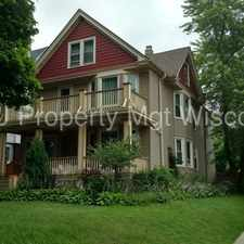 Rental info for Upper Duplex Near UWM in the Upper East Side area