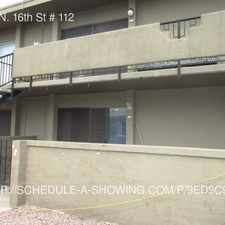 Rental info for 6315 N. 16th St # 112 in the Phoenix area