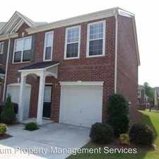 Rental info for 3217 Mill Springs Circle