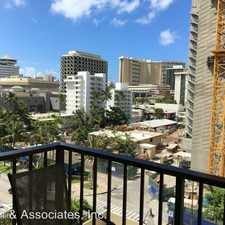 Rental info for 2140 Kuhio Ave Apt 703 - FP 703 in the Honolulu area