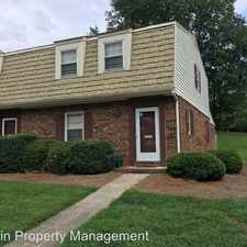 Rental info for 2962 Saint Marks Rd. Apt. A in the Winston-Salem area