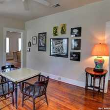 Rental info for 2607 North Saint Mary's Street in the San Antonio area