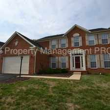 Rental info for Beautiful 4 Bedroom Brick Front Colonial For Rent in Leesburg!
