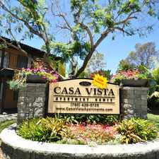 Rental info for Casa Vista Apartment Homes
