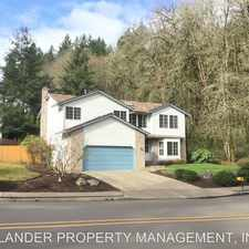 Rental info for 22491 CLARK ST in the Oregon City area