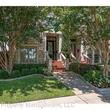 Rental info for 4041 Throckmorton Street in the Dallas area