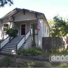 Rental info for Two Bedroom In Sacramento in the Elmhurst area