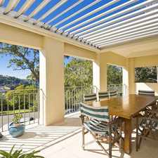 Rental info for Family Retreat with Elevated Views in the Mosman area
