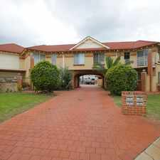 Rental info for Well Presented Townhouse in the Perth area